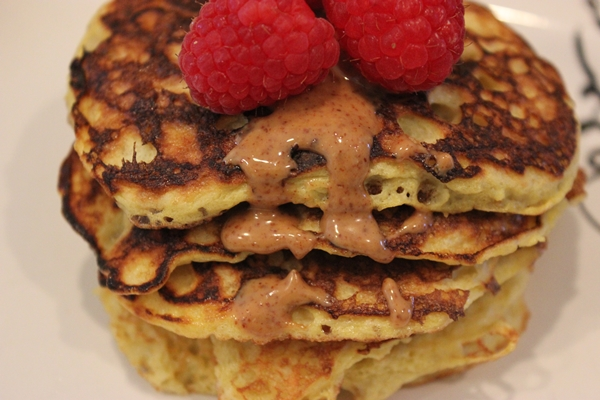 2 ingredient pancakes small
