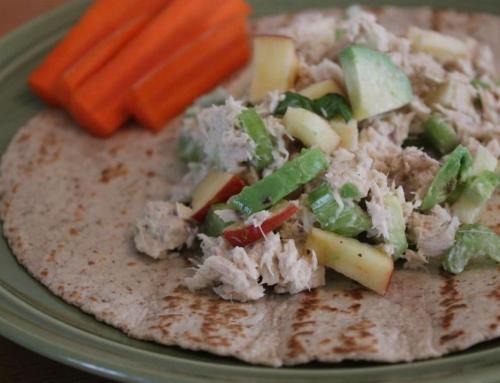 Tuna, Avocado & Apple Wrap